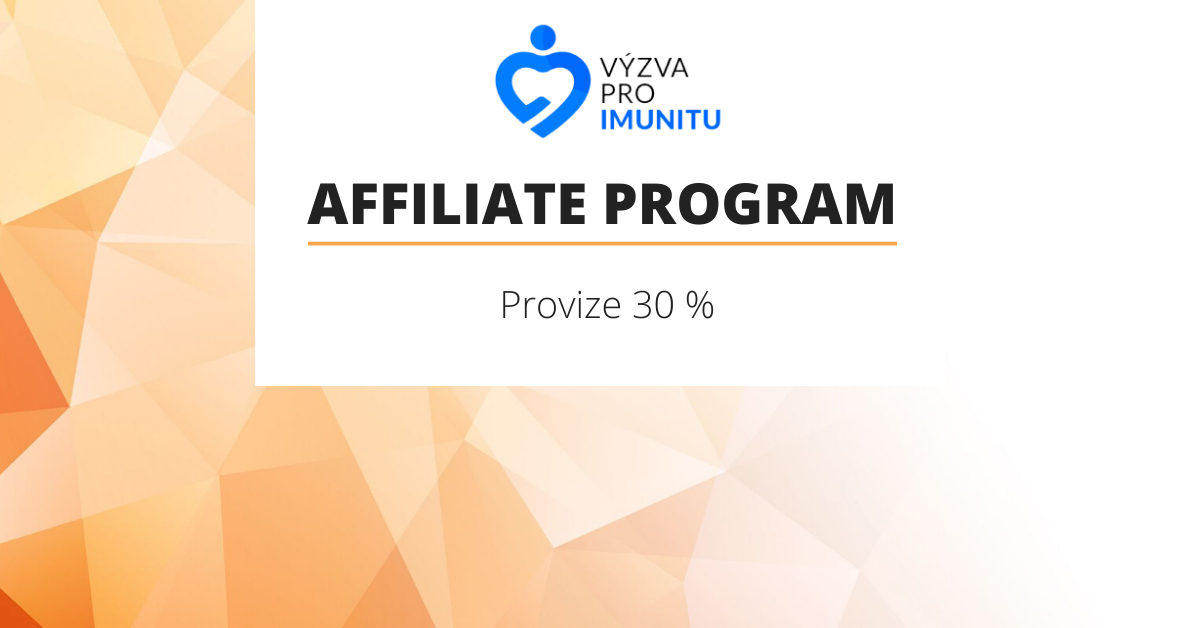 affiliate program vyzva pro imunitu